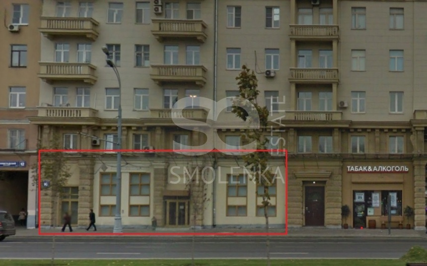 Rent Retail, Total area 472 m2, 1 Floor, Leningradskiy prkt 10, District Begovoy