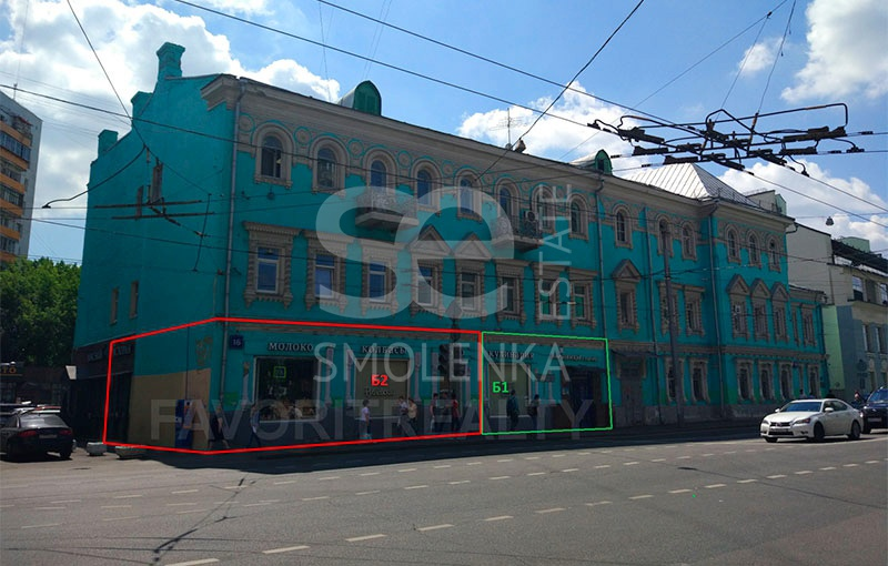 Sale Retail, Total area 50 m2, 1 Floor, Spartakovskaya pl 16, District Basmannyy