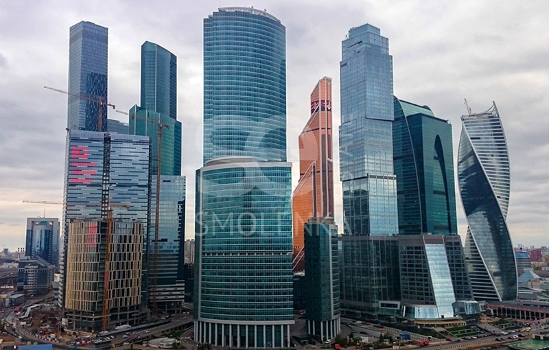 Rent Office, Total area 1252 m2, 25 Floor, Presnenskaya nab 10, District Presnenskiy