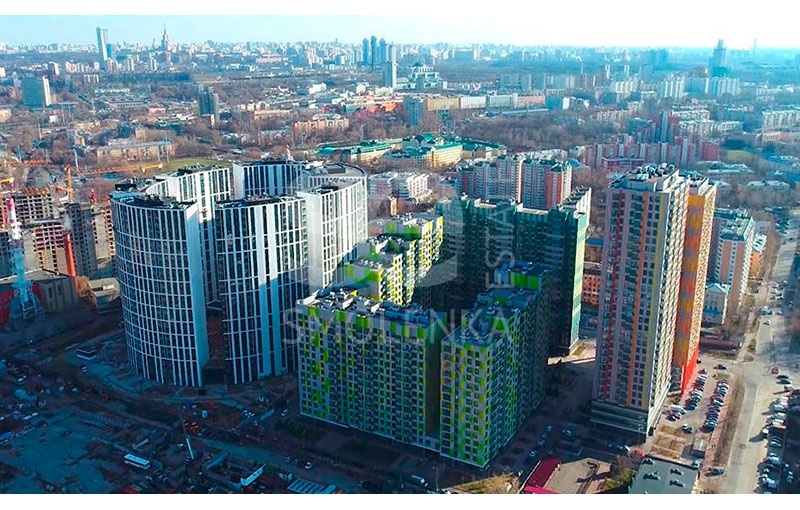 Sale Office, Total area 1783.6 m2, 1 Floor, Beregovoy prd 5, District Filyevskiy Park