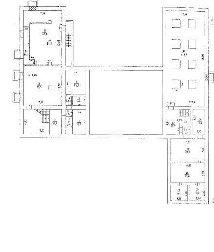Rent Commercial building, Total area 2625 m2, 1 Floor, Delegatskaya ul 7s1, District Tverskoy