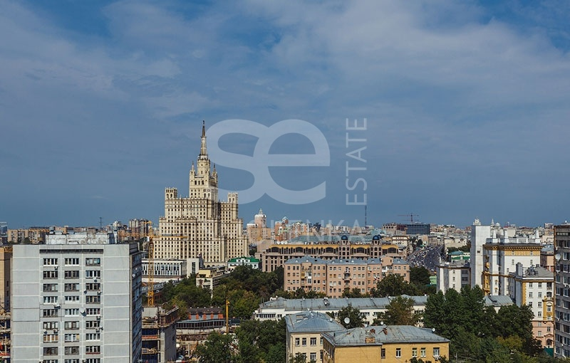 Sale Apartments, Total area 113.5 m2, 11 Floor, Residential Complex Звёзды Арбата, Novyy Arbat ul 32