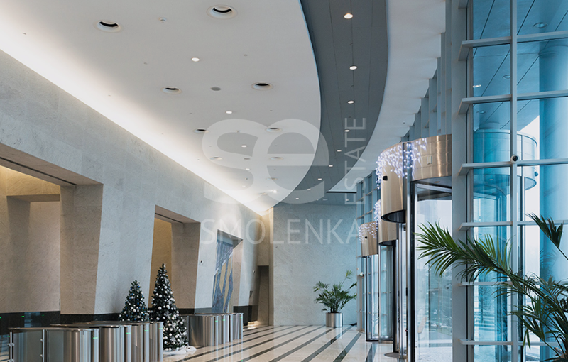 Rent Office, Total area 539 m2, 57 Floor, Presnenskaya nab 10, District Presnenskiy