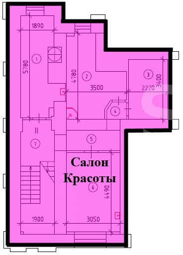 Sale Retail, Total area 245.1 m2, 1 Floor, Profsoyuznaya ul 712, District Akademicheskiy