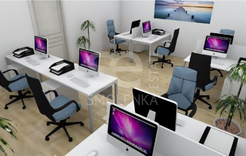 Rent Office, Total area 17.2 m2, 3 Floor, Timura Frunze ul 20 s3, District KHamovniki