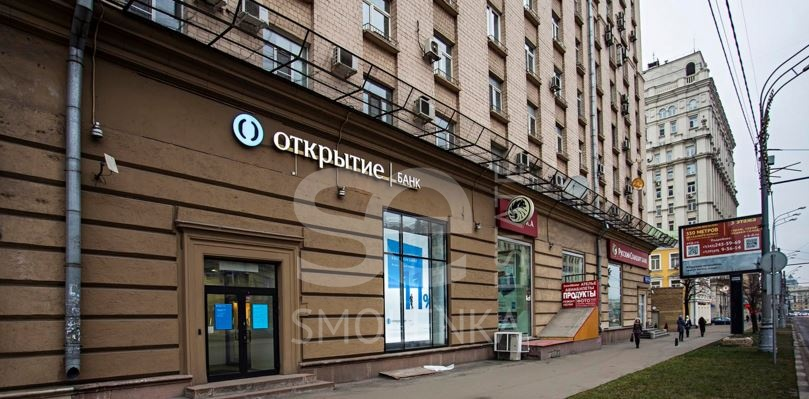 Rent Retail space, Total area 181 m2, 1 Floor, Valovaya ul 818, District Zamoskvoreche