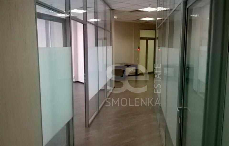 Rent Office, Total area 260 m2, 3 Floor, Bryanskaya ul 5, District Dorogomilovo