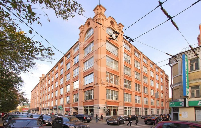 Rent Office, Total area 30.14 m2, 2 Floor, Krasnoproletarskaya ul 16 s1, District Tverskoy