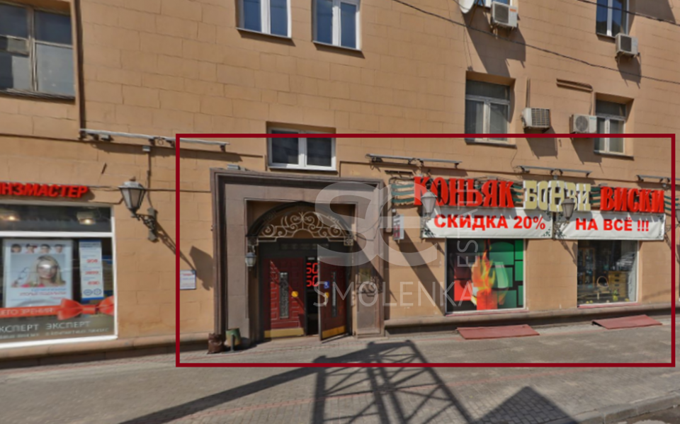 Rent Retail, Total area 77 m2, 1 Floor, Mira prkt 73, District Meshchanskiy