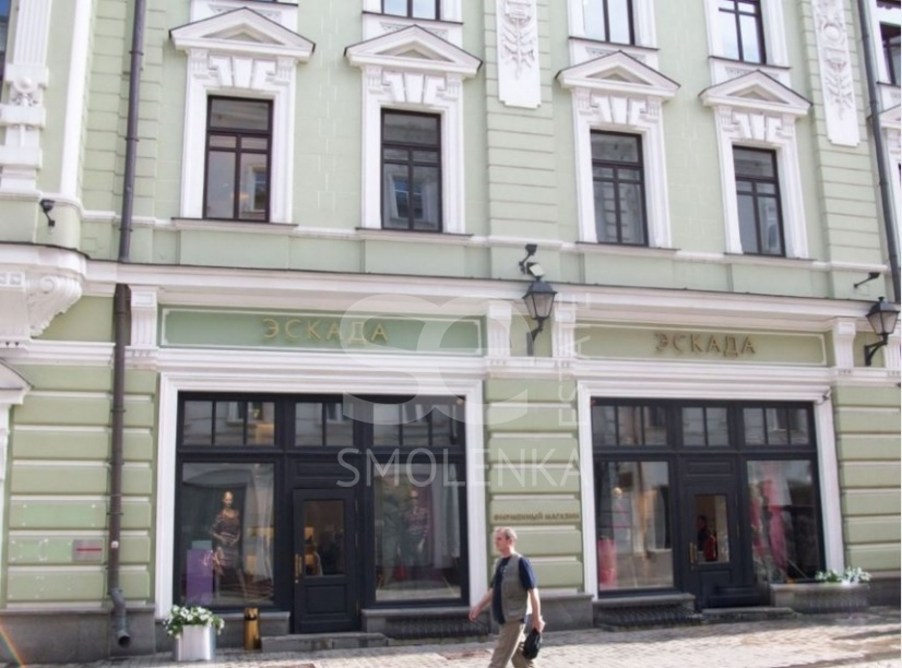 Sale Retail, Total area 178 m2, 1 Floor, Stoleshnikov per 14, District Tverskoy