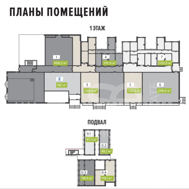 Sale Retail space, Total area 119 m2, Mitinskaya ul 36, District Mitino