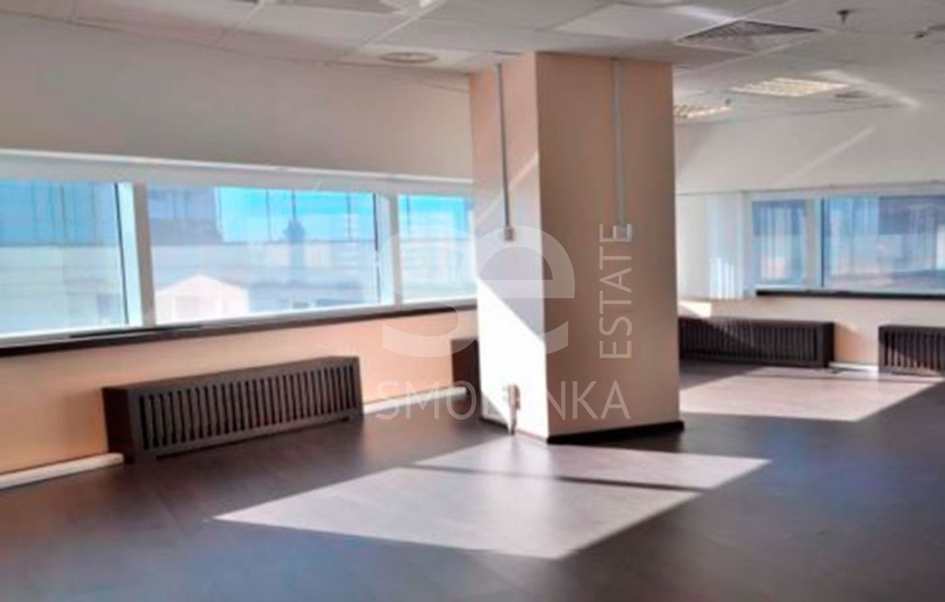 Rent Office, Total area 774 m2, 8 Floor, Novinskiy br 8, District Arbat