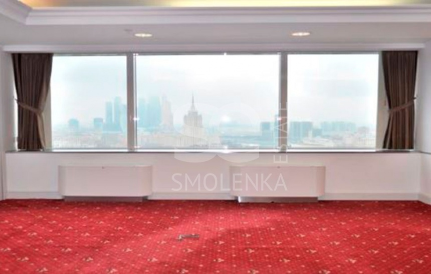 Rent Office, Total area 178.4 m2, 20 Floor, Novinskiy br 8, District Arbat