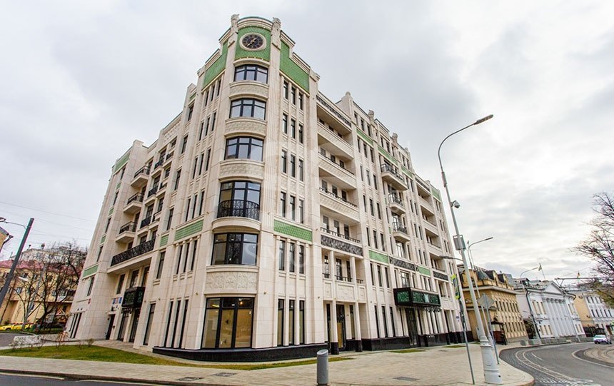 Sale Apartments, Total area 143.4 m2, 2 Floor, Residential Complex Резиденция на Покровском бульваре, Pokrovskiy br 5s1