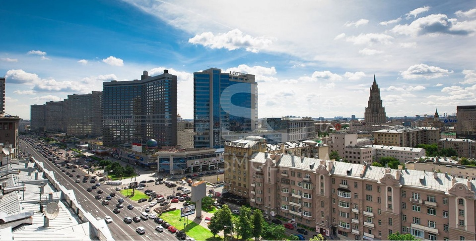 Sale Apartments, Total area 92.1 m2, 3 Floor, Residential Complex Звёзды Арбата, Novyy Arbat ul 32
