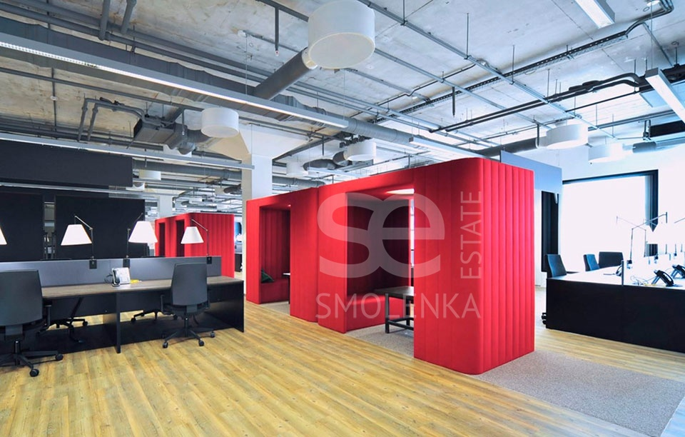 Rent Office, Total area 179 m2, -1 Floor, Susalnyy Nizh per 5 s 5A, District Basmannyy