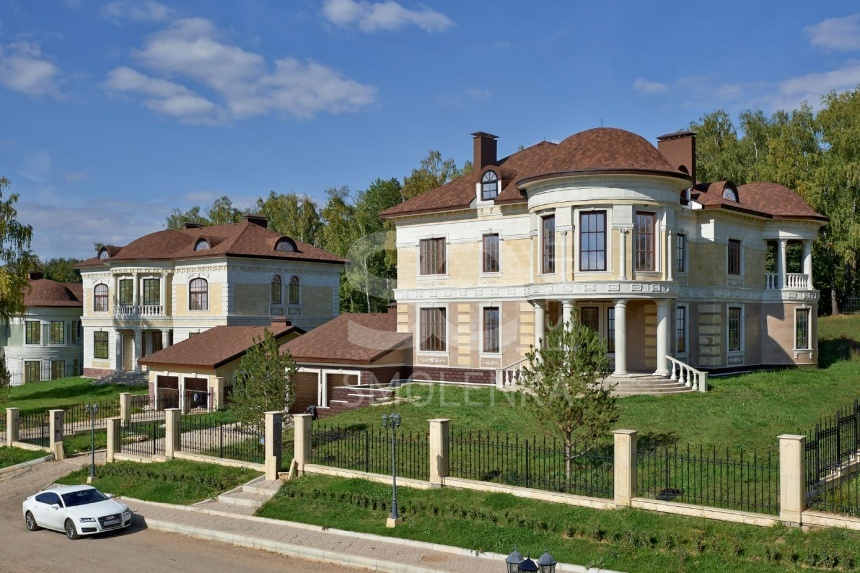 Sale House, Total area 485 m2, Cottage Village Идиллия, Калужское, Land area 24.5 acres
