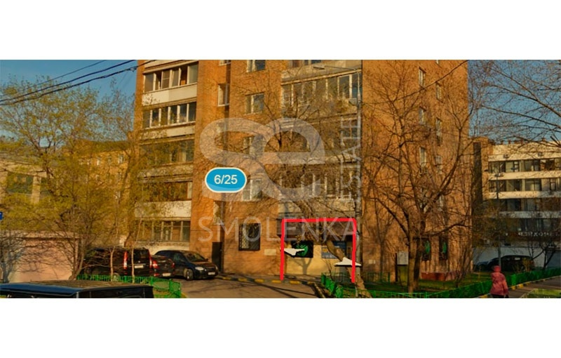 Rent Retail, Total area 125 m2, 1 Floor, Rossolimo ul 625, District KHamovniki