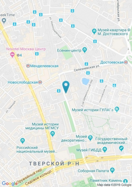 Rent Office, Total area 194 m2, 4 Floor, Krasnoproletarskaya ul 30 str 1, District Tverskoy