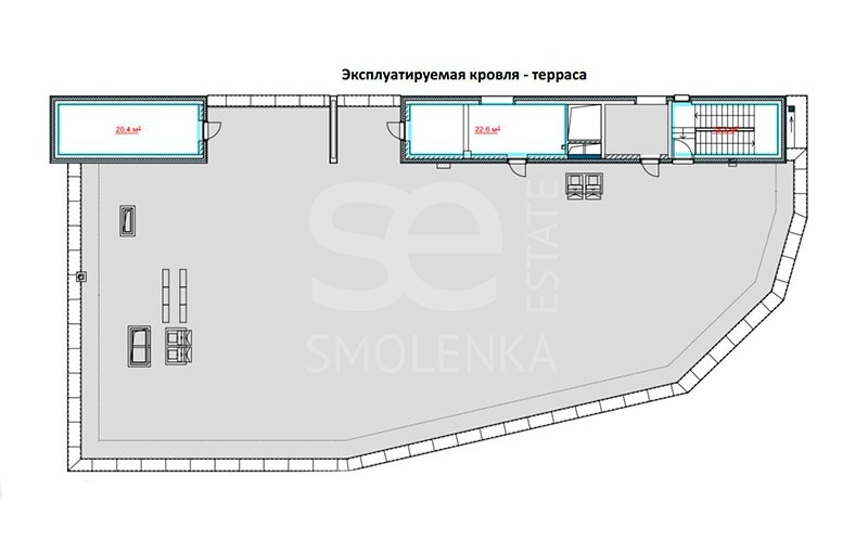 Rent Multi-purpose, Total area 2625 m2, Lva Tolstogo ul 23 k1, District KHamovniki