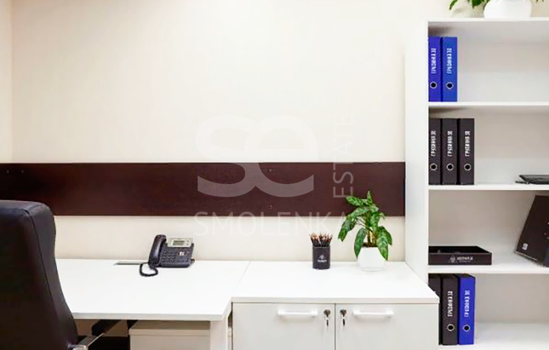 Rent Office, Total area 79 m2, 4 Floor, Gruzinskaya B ul 30A s 1, District Presnenskiy