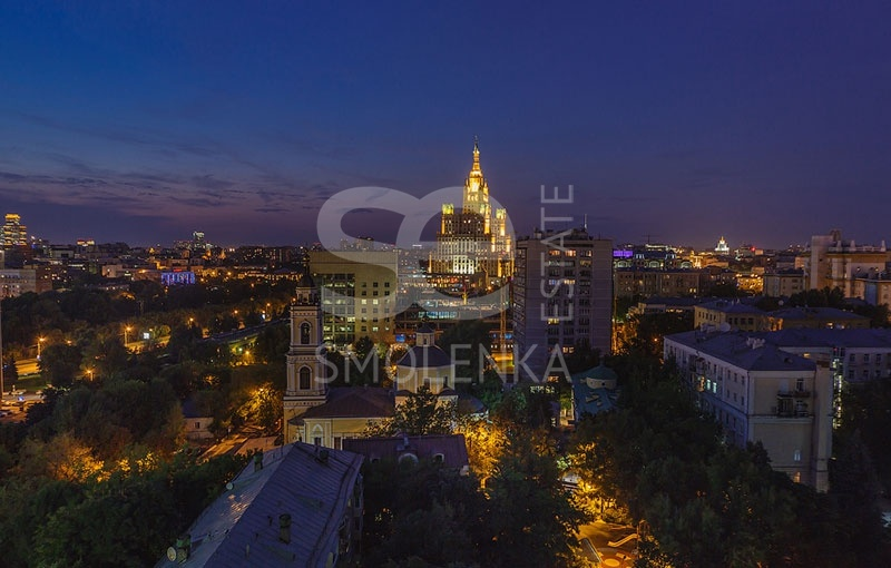 Sale Apartments, Total area 129.7 m2, 6 Floor, Residential Complex Звезды Арбата, Novyy Arbat ul 32