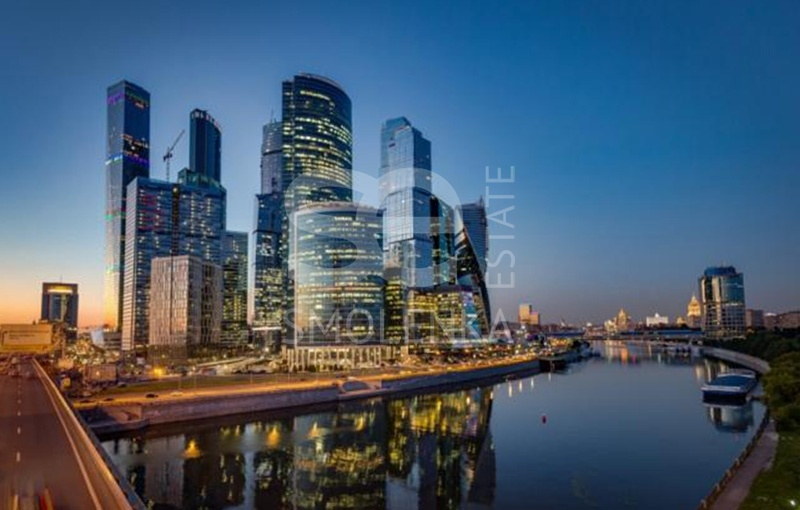 Rent Office, Total area 2035.8 m2, 45 Floor, Presnenskaya nab 10, District Presnenskiy