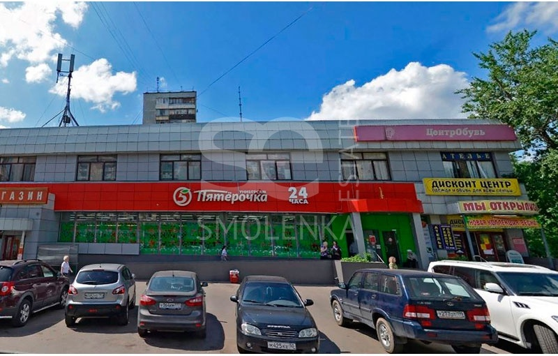 Rent Retail, Total area 432.5 m2, 2 Floor, TSandera ul 7k2A, District Ostankinskiy